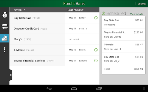 Forcht Bank – Mobile Banking - screenshot thumbnail