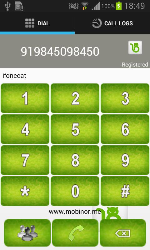 Ifonecat - screenshot
