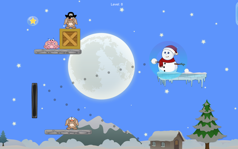 Snowman Puffy- screenshot