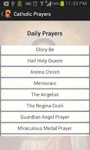 Catholic Prayers - screenshot thumbnail
