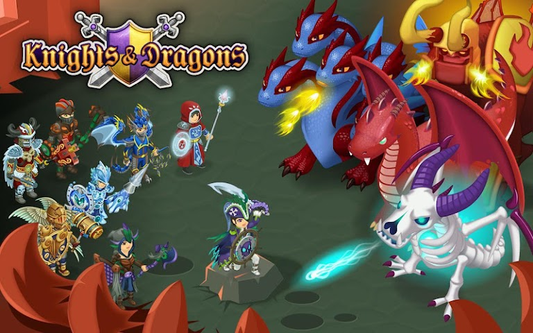 android Knights & Dragons - Action RPG Screenshot 14