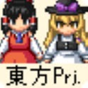 Touhou Project Character WalkX logo