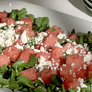 Melon and Cress Salad Recipe