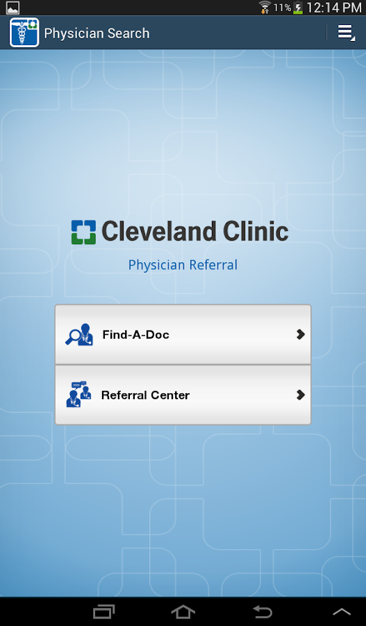 Physician Referral - screenshot