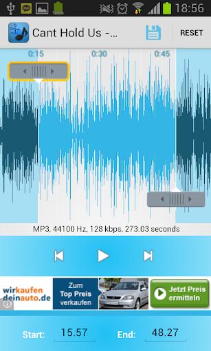 MP3播放机和RingtoneCreator
