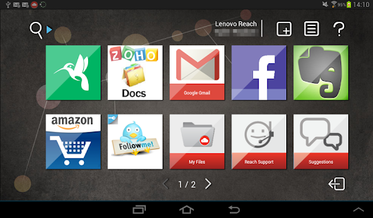 Lenovo Reach - screenshot thumbnail