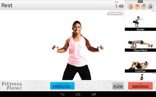 Fitness Flow FREE- screenshot thumbnail