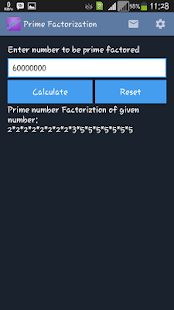 Prime Factorization- screenshot thumbnail