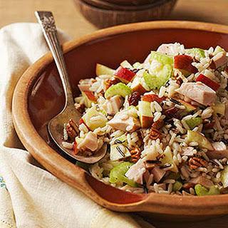 Turkey Wild Rice Salad.