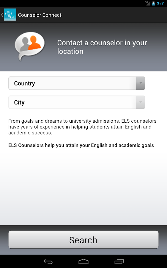 MyELS —Tools to Study Abroad - screenshot