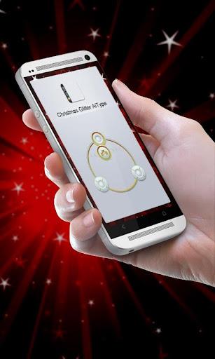 圣诞金葱 AiType Theme|玩個人化App免費|玩APPs