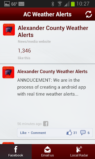 AC Weather Alert