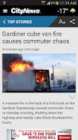 Screenshot of CityNews Toronto