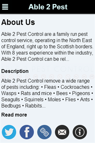 Able 2 Pest Control Services