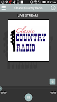 Screenshot of Classic Country Radio