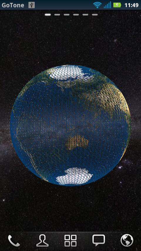 3D Globe Visualization Pro - screenshot