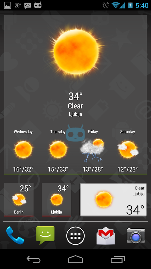 Weatherlove - screenshot