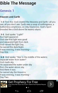 Bible The Message - screenshot thumbnail