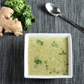 Coconut Broccoli Soup.