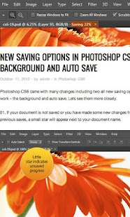 Photoshop CS6 Tutorials - screenshot thumbnail