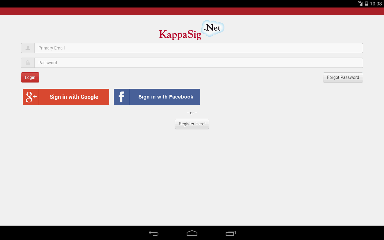 Kappa Sigma- screenshot