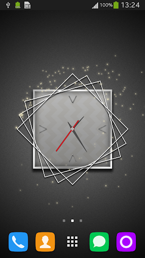 Clock Background App