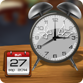 Table Clock Live Wallpaper