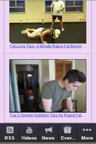 Fat Loss Tricks Free - screenshot