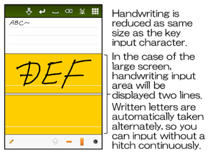 Handwriting Note - náhled