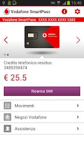 Vodafone SmartPass - screenshot thumbnail