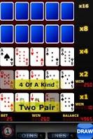 Screenshot of Upgrade Video Poker