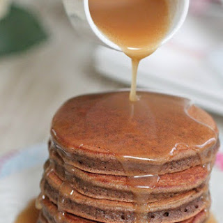 Caramel Eggnog Syrup.