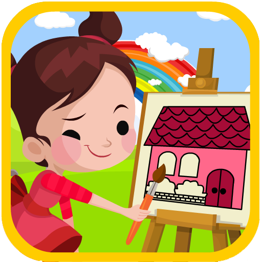 House Coloring Game