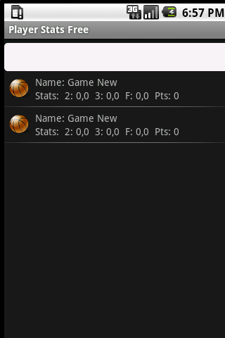 Basketball Player Stats Free - screenshot