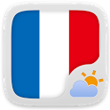 French Language GOWeatherEX icon