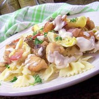 Amazing Italian Lemon Butter Chicken.