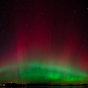 Scottish Aurora by Ben Leng - Landscapes Starscapes