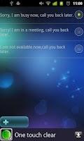 Screenshot of Auto reply