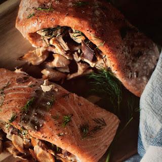 Double-Smoked Salmon.