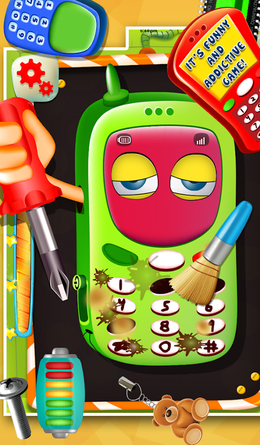 Kids Mobile Repairing- screenshot