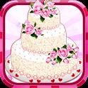 Rose Wedding Cake Game icon