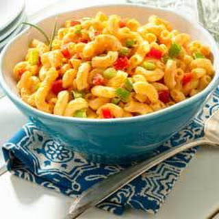 Easy Mexican Pasta Salad.
