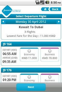 Jazeera Airways- screenshot thumbnail