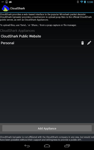 CloudShark Upload