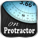 транспортир - ON PROTRACTOR icon