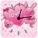 Kawaii Love Clocks logo
