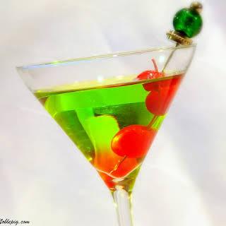 Happy Elf Cocktail.