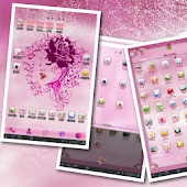 Pink Roses Theme for TABLETs