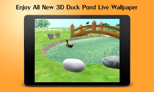 River 3D Waterfall Pond LWP