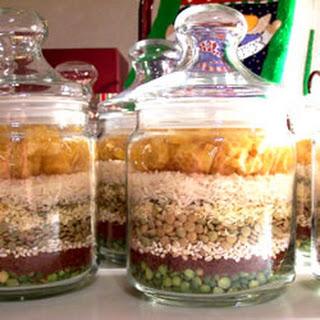 Friendship Soup Mix in a Jar